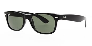 Ray Ban Sunglasses New Wayfarer Black RB2132 901L