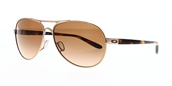 Oakley Sunglasses Feedback Rose Gold/VR50 Brown Gradient OO4079-01 59