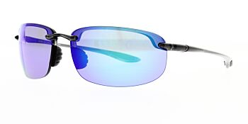 Maui Jim Sunglasses Ho'okipa Smoke Grey Blue Hawaii Polarised B407-11