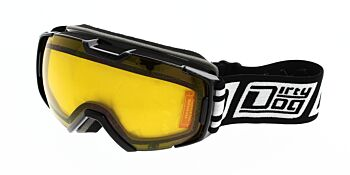 Dirty Dog Ski Goggle Velocity Black Orange DD54199