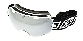 Dirty Dog Ski Goggle Afterburner White Silver Mirror DD54154