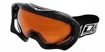 Dirty Dog Ski Goggle Out Rigger Shiny Black Orange DD54117