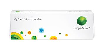 MyDay Daily Disposable Contact Lenses +5.00