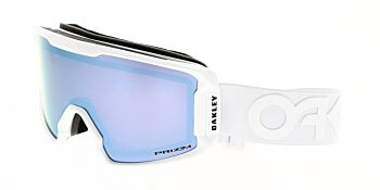 Oakley Goggles Line Miner XM Factory Pilot Whiteout Prizm Sapphire Iridium OO7093-1300