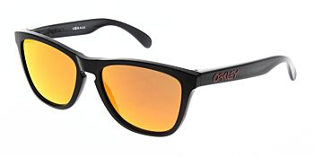 Oakley Sunglasses Frogskins Black Ink Prizm Ruby OO9013-C955