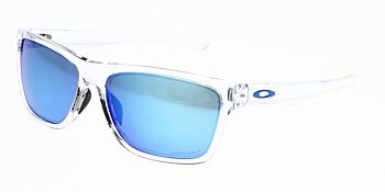 Oakley Sunglasses Holston Polished Clear Prizm Sapphire Iridium OO9334-1358