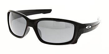 Oakley Sunglasses Straightlink Polished Black Prizm Black Polarised OO9331-1658