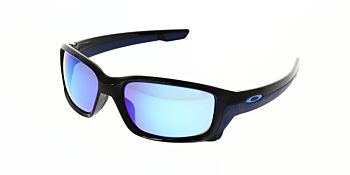 Oakley Sunglasses Straightlink Polished Black/Sapphire Iridium OO9331-0461