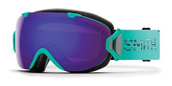 Smith Optics Goggles I/OS Opal/ChromaPop Everyday Violet Mirror & ChromaPop Storm Rose Flash