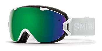 Smith Optics Goggles I/OS White Vapor/ChromaPop Sun Green Mirror & ChromaPop Storm Rose Flash