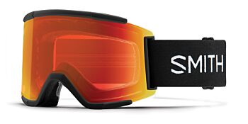 Smith Optics Goggles Squad XL Black/ChromaPop Sun Red Mirror & ChromaPop Storm Rose Flash