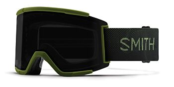 Smith Optics Goggles Squad XL Moss Surplus/ChromaPop Sun Black & ChromaPop Storm Rose Flash