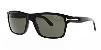 Tom Ford August Sunglasses TF678 01D Polarised 56