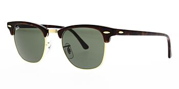 Ray Ban Clubmaster Sunglasses RB3016 W0366 49